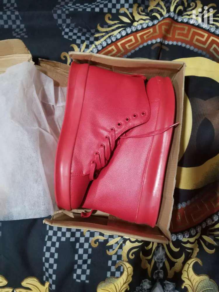 Quality Sneakers, All Red Brand New