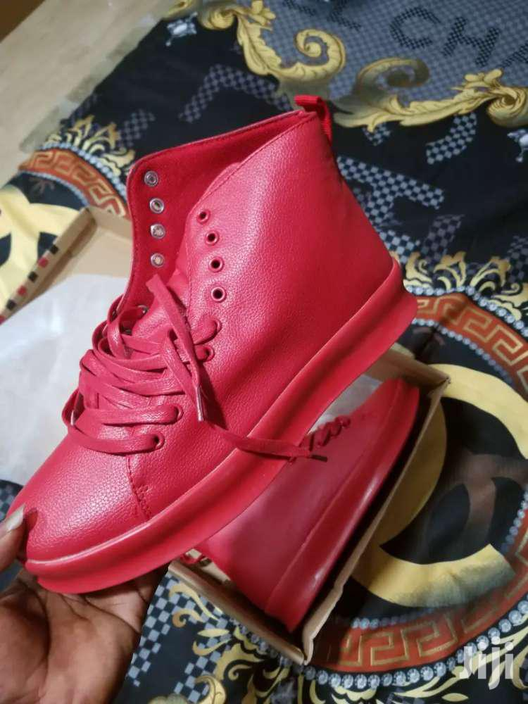 Quality Sneakers, All Red Brand New | Shoes for sale in Achimota, Greater Accra, Ghana