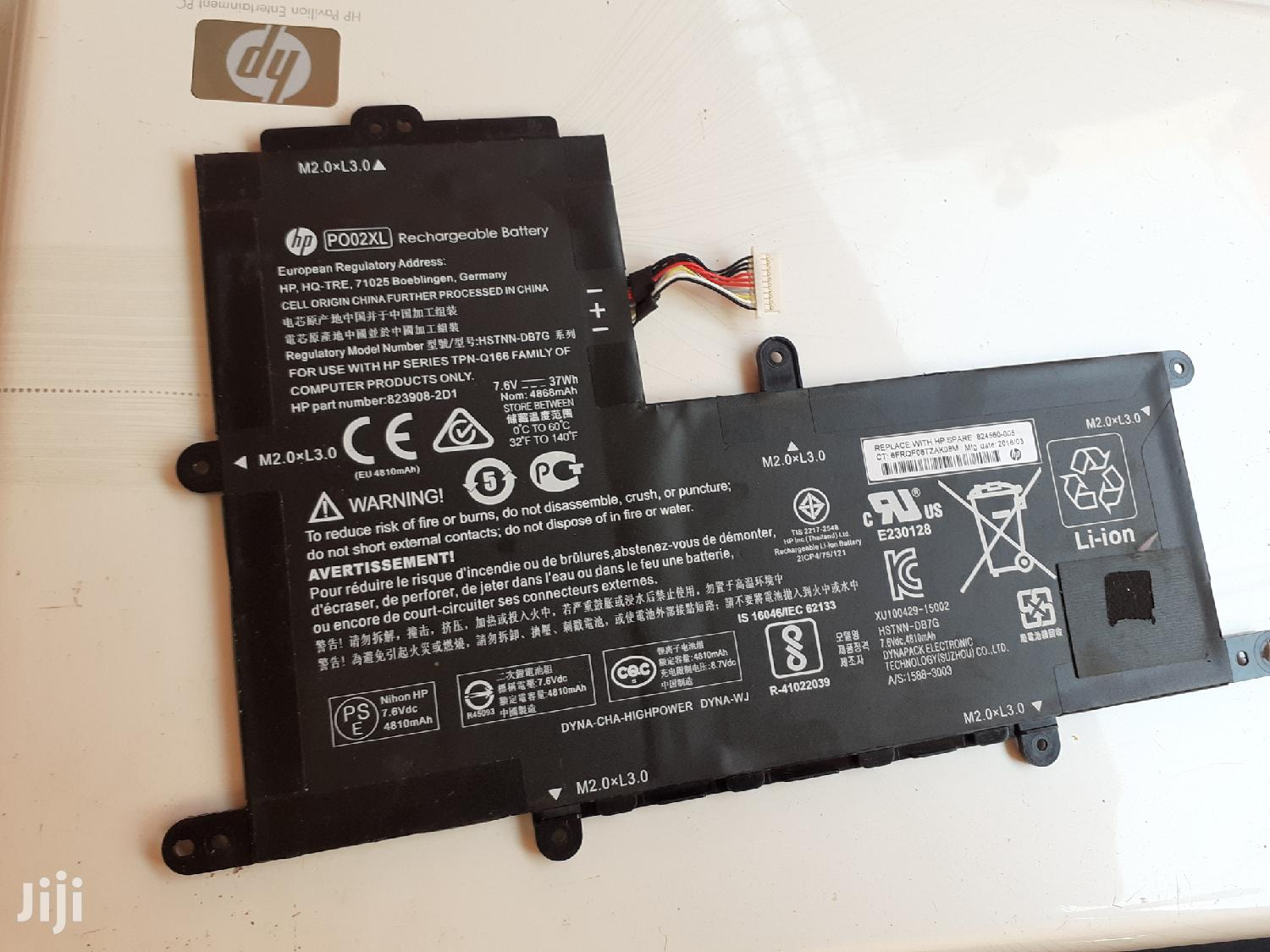 Archive: Fresh Original HP Stream P002XL Battery From USA