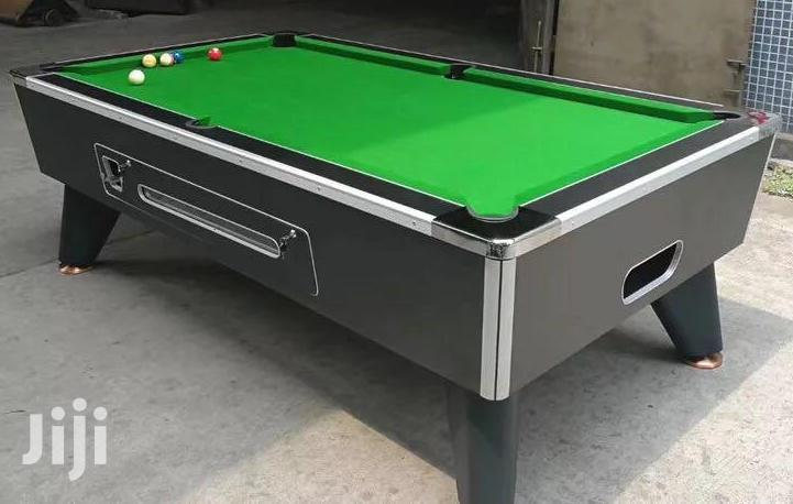 Commercial Marble Coin Operated Snooker Table