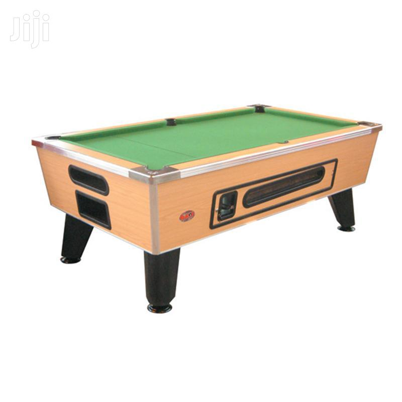 Commercial Marble Coin Operated Snooker Table | Sports Equipment for sale in Adenta Municipal, Greater Accra, Ghana