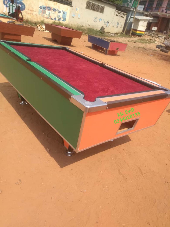 1ghc Coins Operating Snooker Machine | Sports Equipment for sale in Kumasi Metropolitan, Ashanti, Ghana