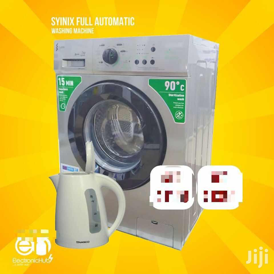 Brand New Syinix Full Automatic Washing Machine 6kg