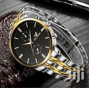 Orlando Silver Black Watch | Watches for sale in Greater Accra, East Legon (Okponglo)
