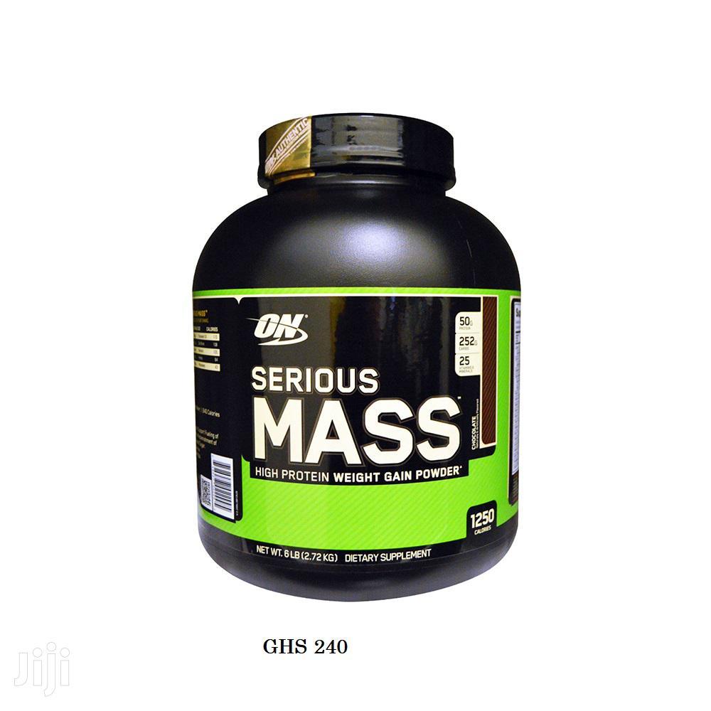 Supplement: Serious Mass Weight Gainer 6 Lbs
