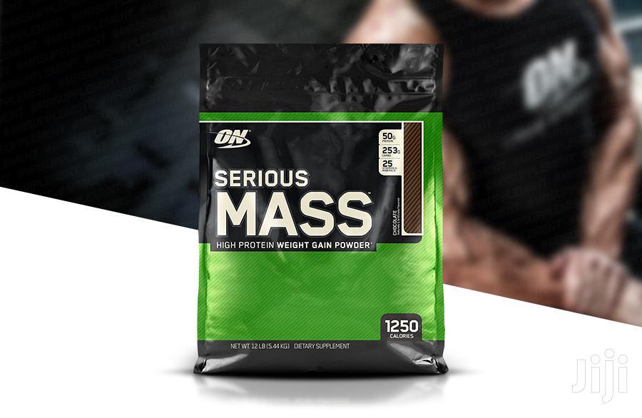 Supplement: Serious Mass Weight Gainer 12 Lbs