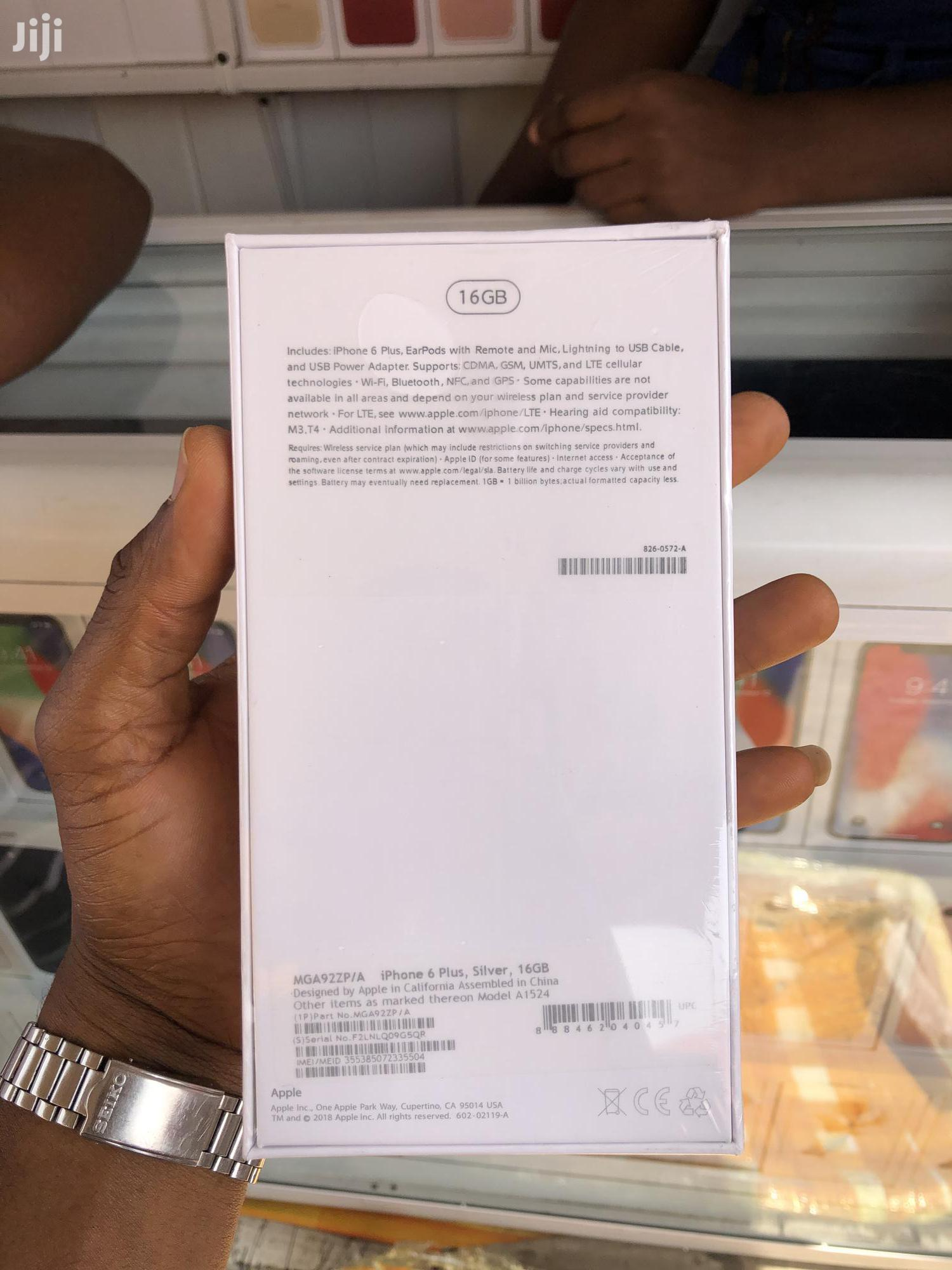 New Apple iPhone 6 Plus 16 GB   Mobile Phones for sale in Airport Residential Area, Greater Accra, Ghana