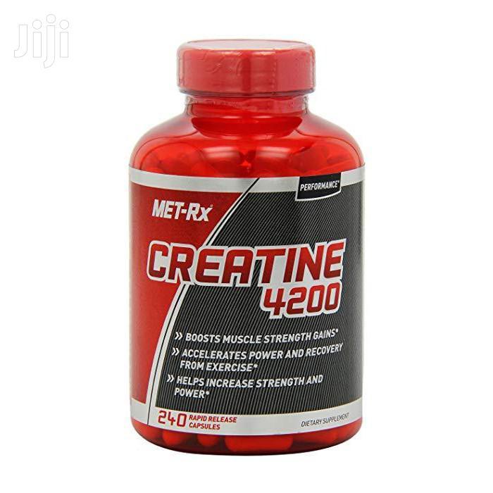 SUPPLEMENT: Met-Rx Creatine 4200, Monohydrate