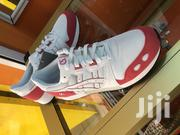 Red and White Asics Sneaker   Shoes for sale in Greater Accra, Darkuman