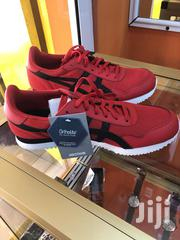 Red And Black And White Asics   Shoes for sale in Greater Accra, Darkuman