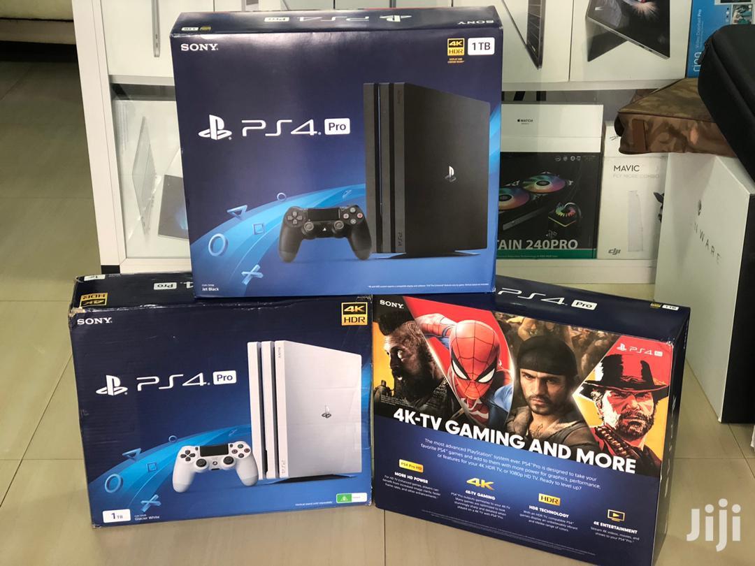 Playstation 4 Pro 1TB Storage Console