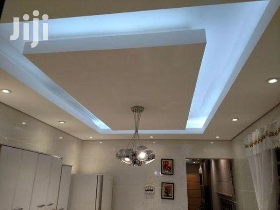 Archive: Acoustic And Plasterboard Design Ceiling Installation