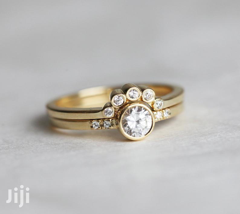 3set Wedding Ring 18K