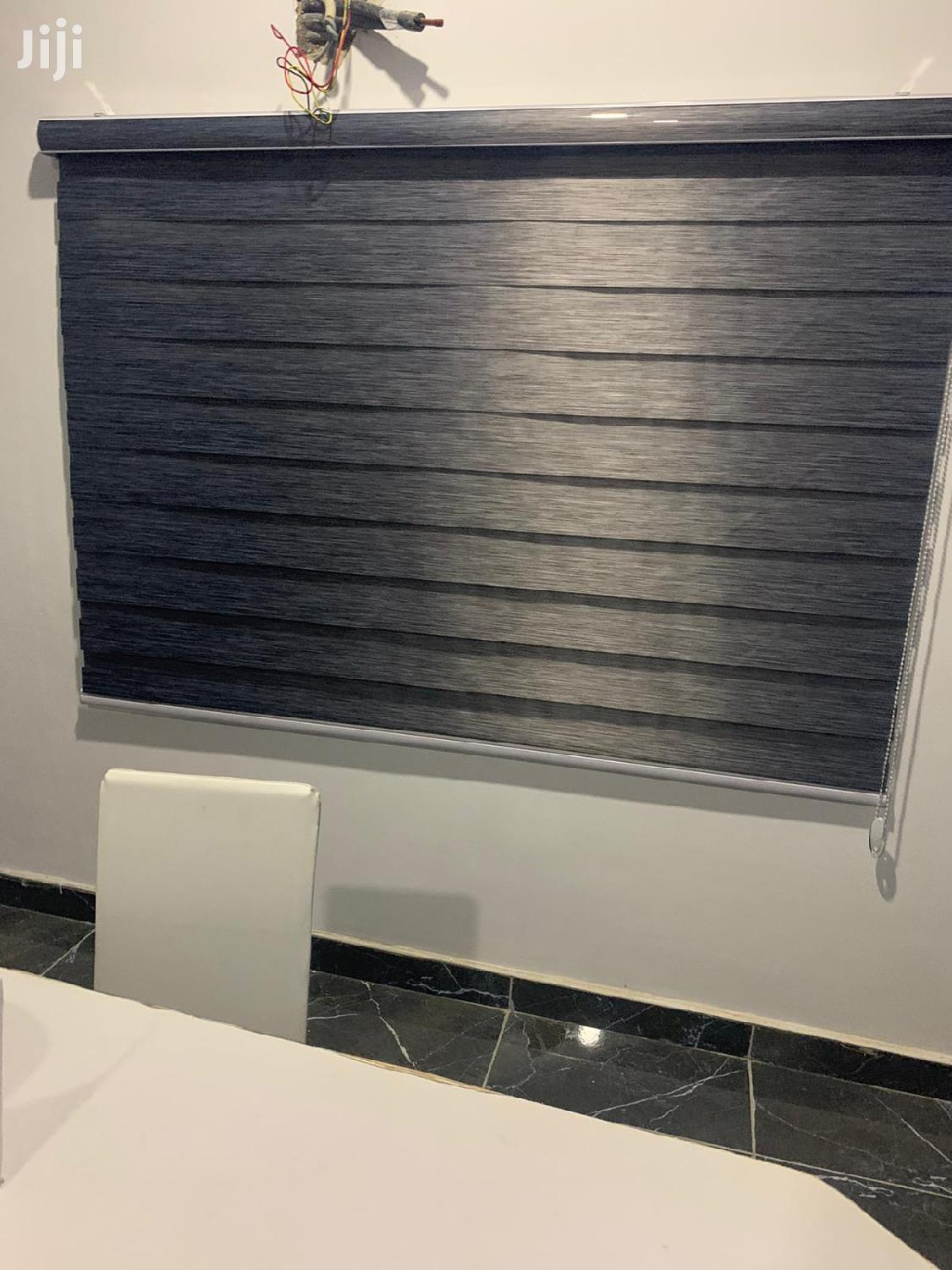 Classy Closed and Open Version of Zebra Blinds   Home Accessories for sale in East Legon, Greater Accra, Ghana