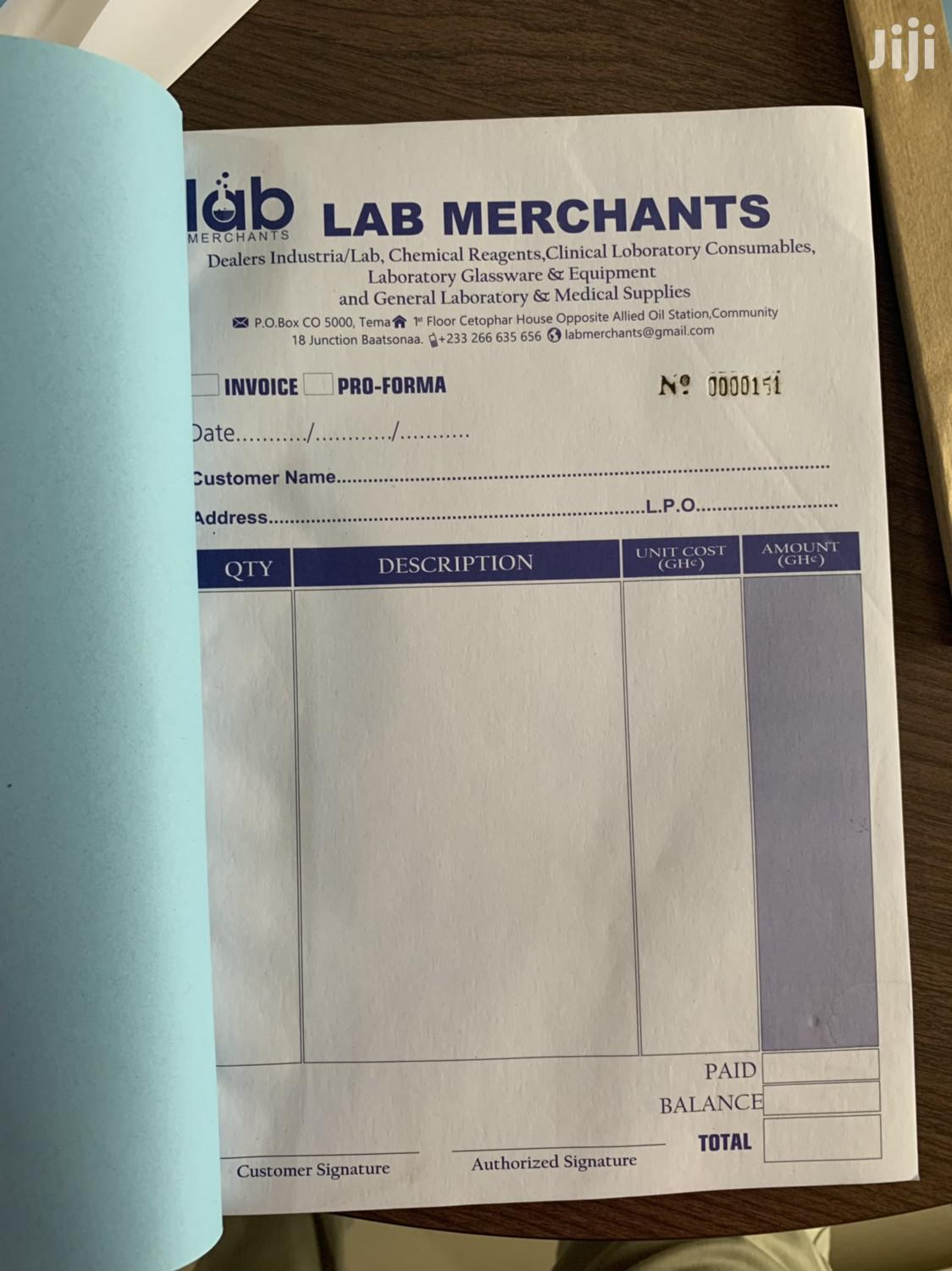 Archive: Print All Your Receipt Books