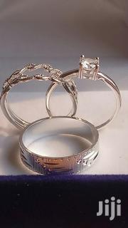3 Sets Exquisite Sterling Silver Rings for Wedding and Engagement. | Wedding Wear for sale in Greater Accra, Tema Metropolitan