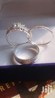 3 Sets Classic Sterling Silver Rings for Wedding and Engagement. | Wedding Wear for sale in Greater Accra, Tema Metropolitan