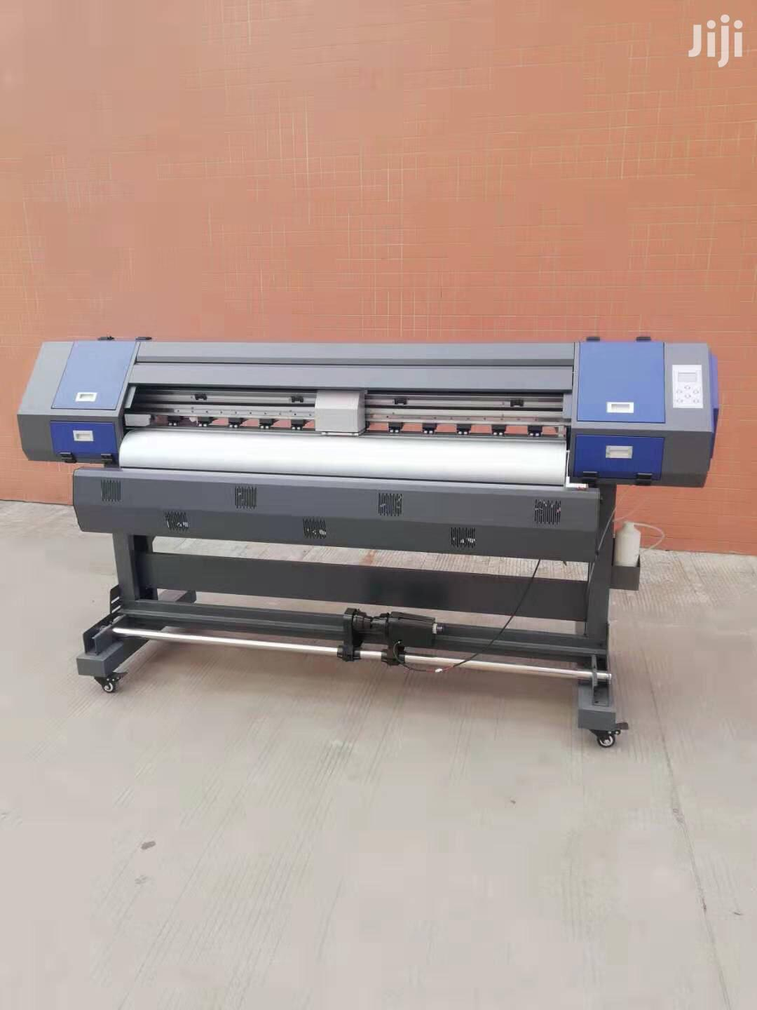 Archive: Large Format Printer. With Head And 4 Set Ink