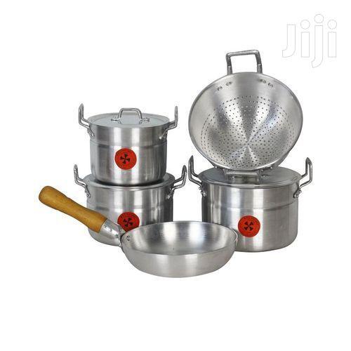 5 Set Aluminium Cooking Utensil