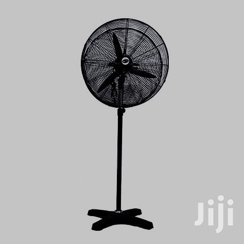 "MIKACHI Industrial Standing Fan 26""– Double Head"