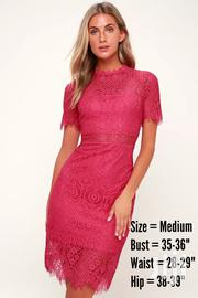 Remarkable Fuchsia Lace Dress | Clothing for sale in Greater Accra, Achimota