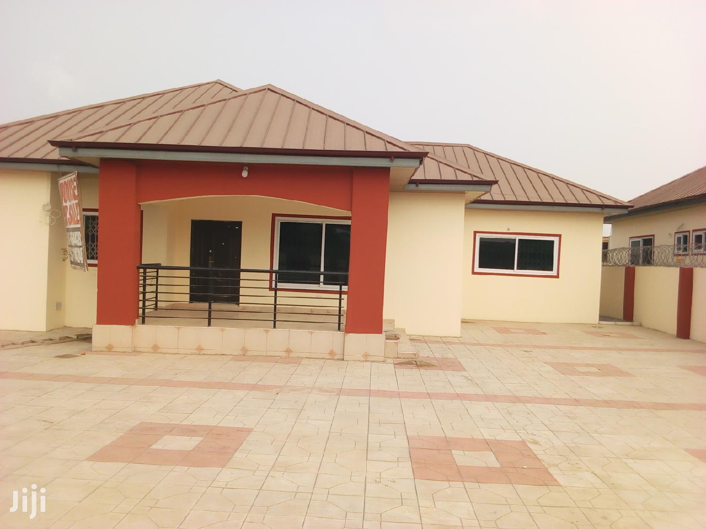 Three Duplex With 4 Washroom For 1yr Kasoa After Yoo Mart
