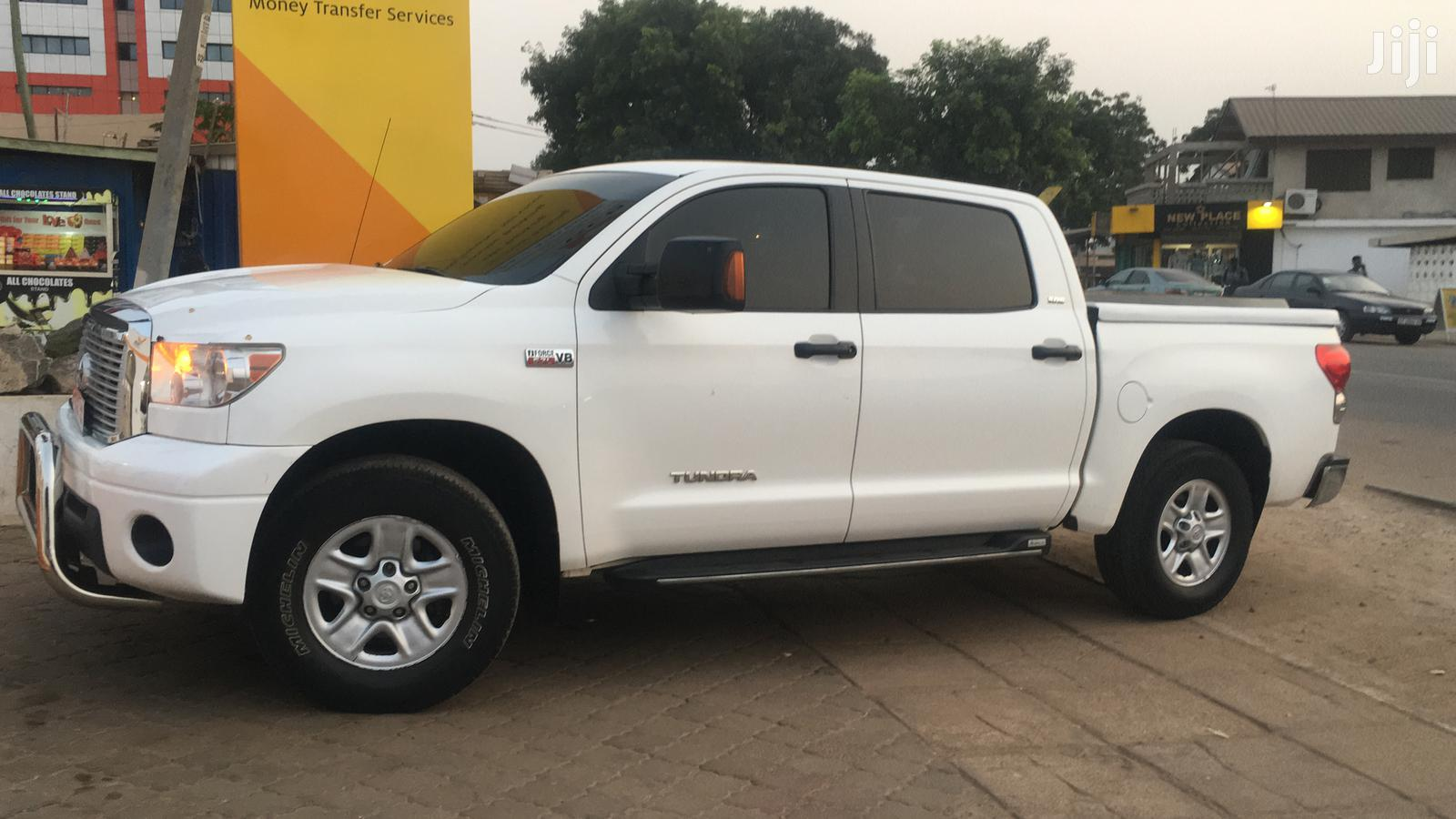 Toyota Tundra 2009 Double Cab 4x4 Limited White