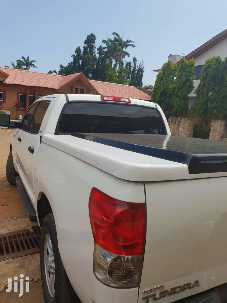 Toyota Tundra 2009 Double Cab 4x4 Limited White | Cars for sale in Tema Metropolitan, Greater Accra, Ghana