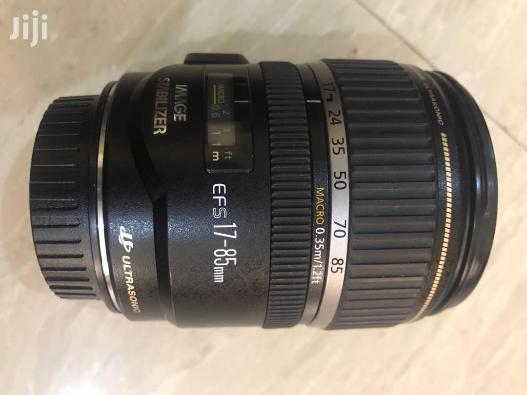 Canon Ef-S 17-85mm F/4-5.6 Is Usm Lens | Accessories & Supplies for Electronics for sale in Dansoman, Greater Accra, Ghana