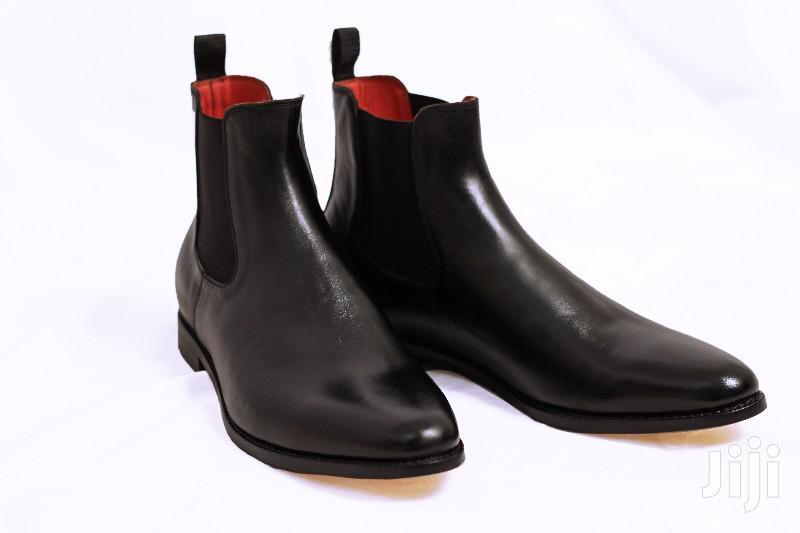 Genuine Leather, Men's Chelsea Boots