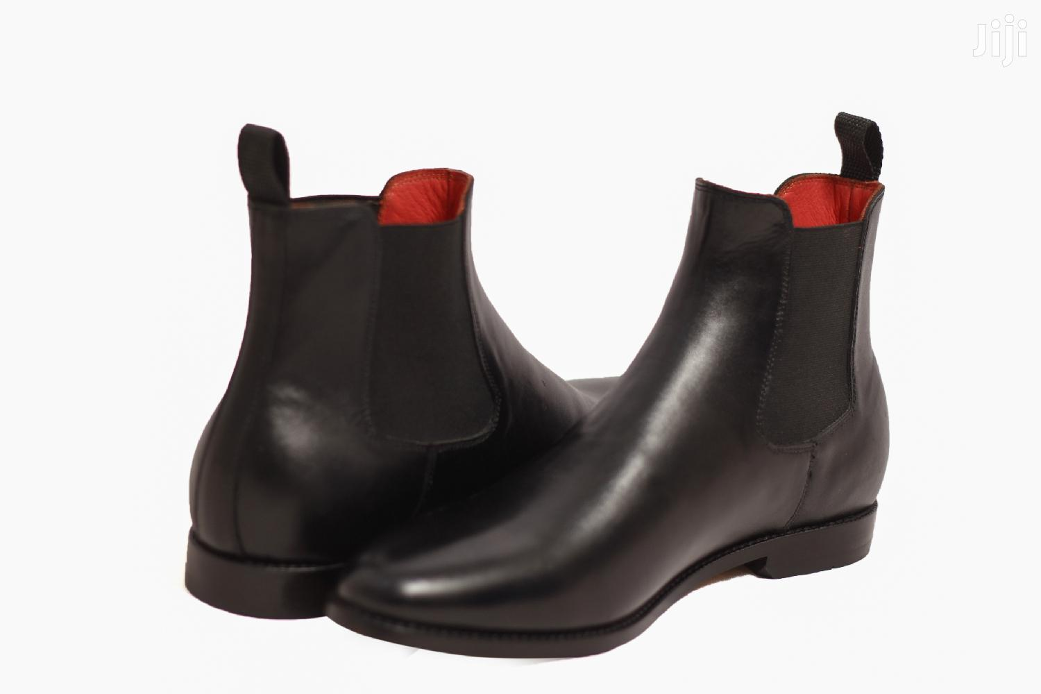 Genuine Leather, Men's Chelsea Boots | Shoes for sale in Accra Metropolitan, Greater Accra, Ghana