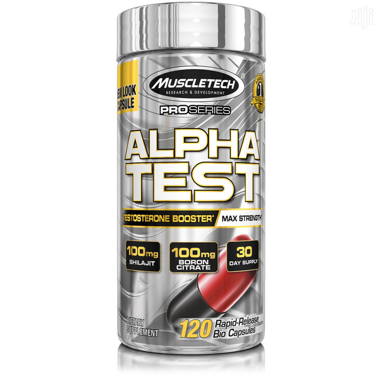 Supplement: Testosterone Booster Alpha Test