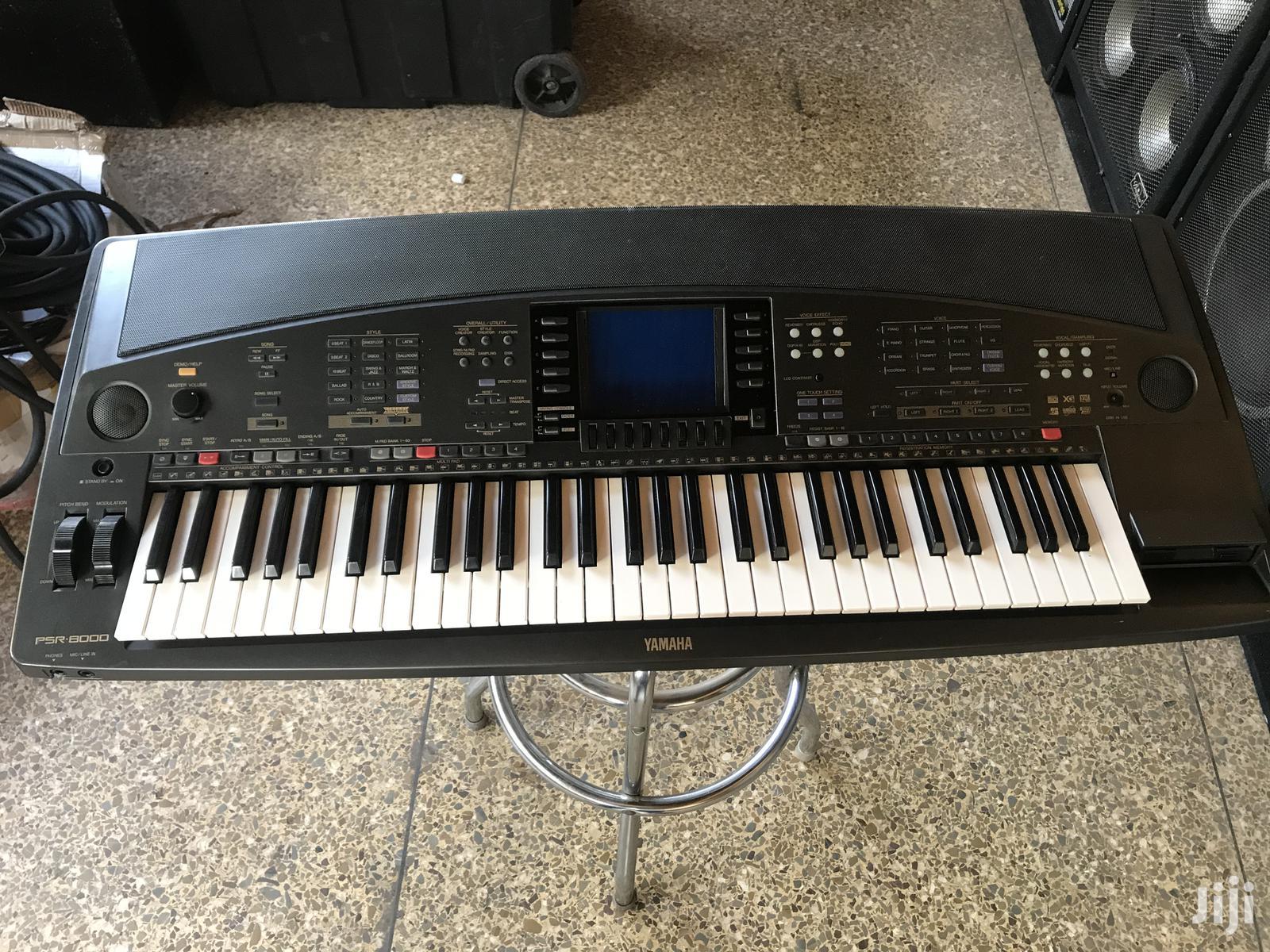 Archive: Yamaha PSR 8000 Keyboard for Sale