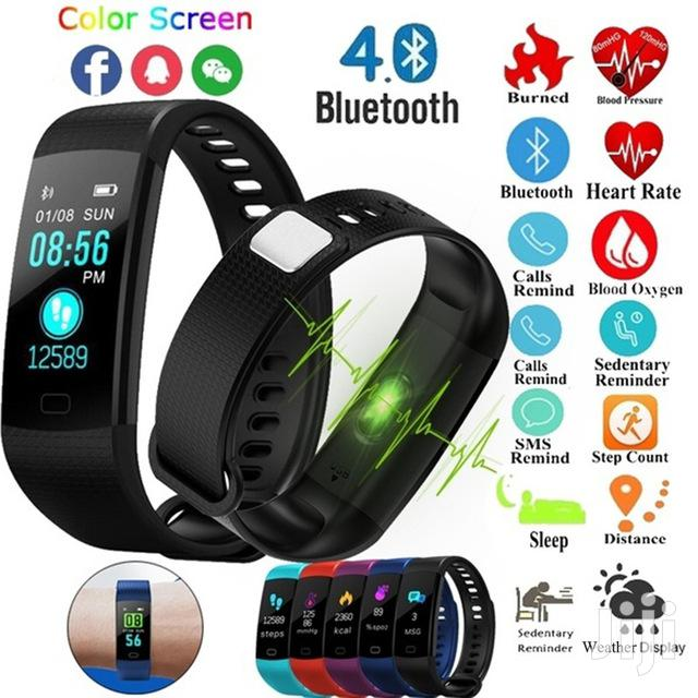 Fitness Tracker - Y5/Y9 | Smart Watches & Trackers for sale in Teshie-Nungua Estates, Greater Accra, Ghana