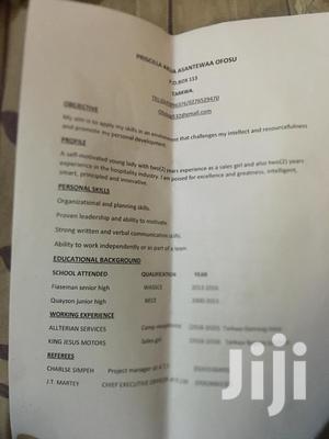 Hotel CV | Hotel CVs for sale in Western Region, Nzema East Prestea-Huni Valley