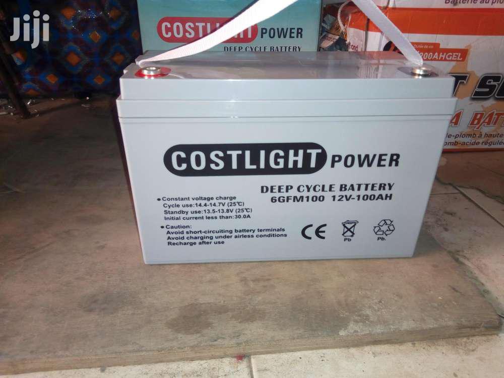 Archive: Costlight Solar Battery 12v 100ah