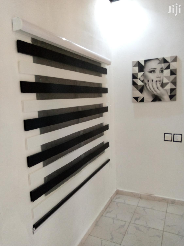 Black And White Zebra Blinds