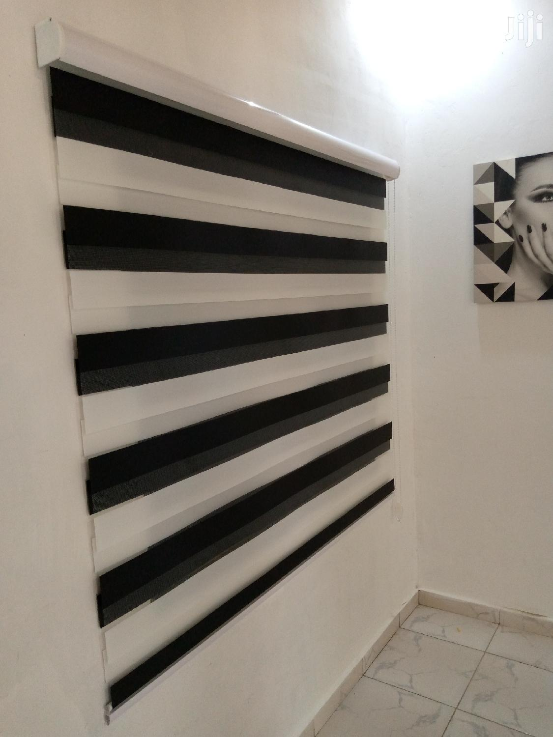 Black And White Zebra Blinds | Home Accessories for sale in Accra Metropolitan, Greater Accra, Ghana