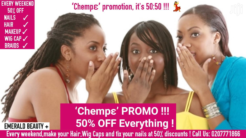 Nails Fixing, Braiding, Makeup Hair 'chempɛ' PROMO!!!