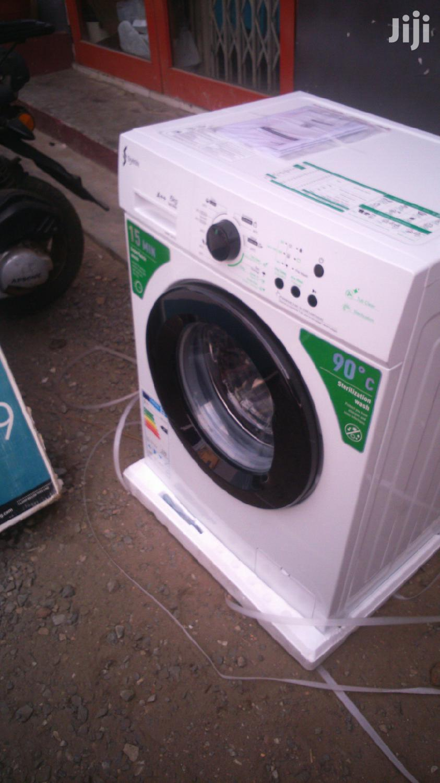 Syinix Front Load Automatic Washing Machine – 6kg White