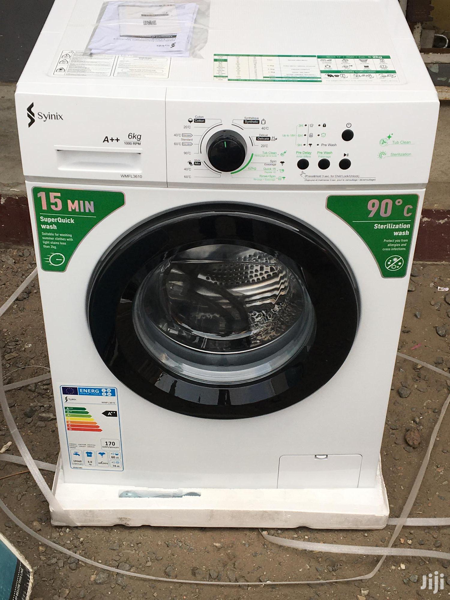Brand New Syinix 6kg Full Automatic Washing Machine
