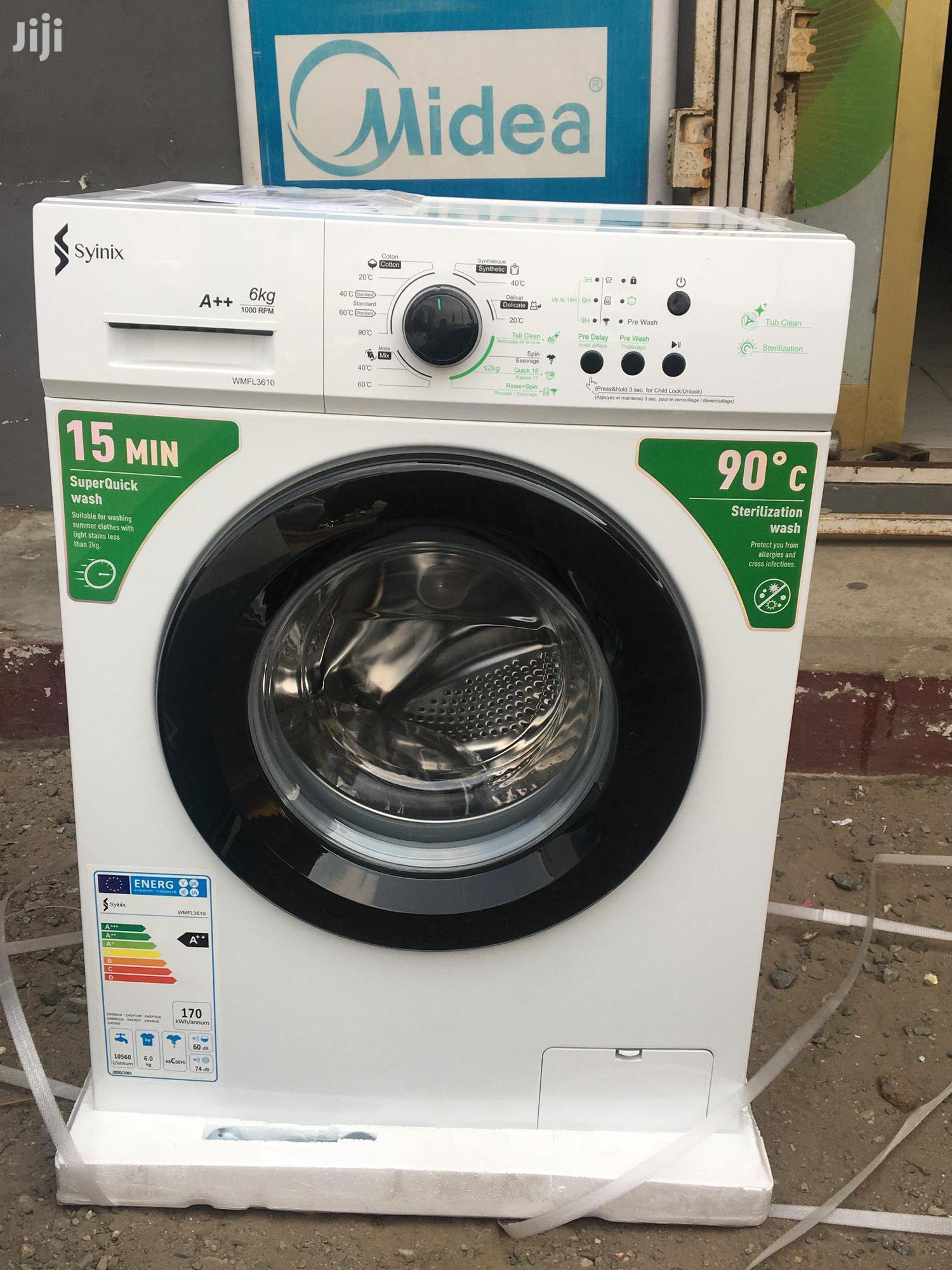 Syinix S7610 6kg Front Load Fully Automatic Washing Machine