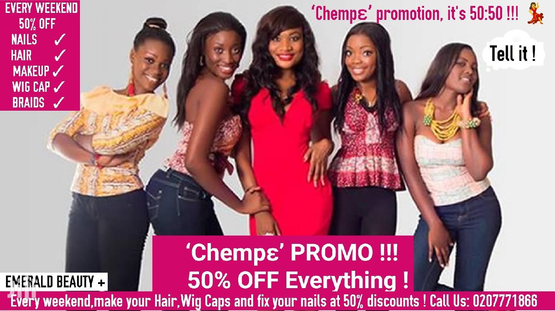Makeup, Braiding ,Hair Styling - 'Chempɛ' PROMO!!!