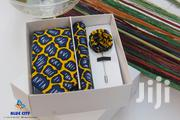 BLUE CITY Ankara|African Print Flying Tie,Pocket Square,Lapel Pin Set | Clothing Accessories for sale in Greater Accra, Odorkor