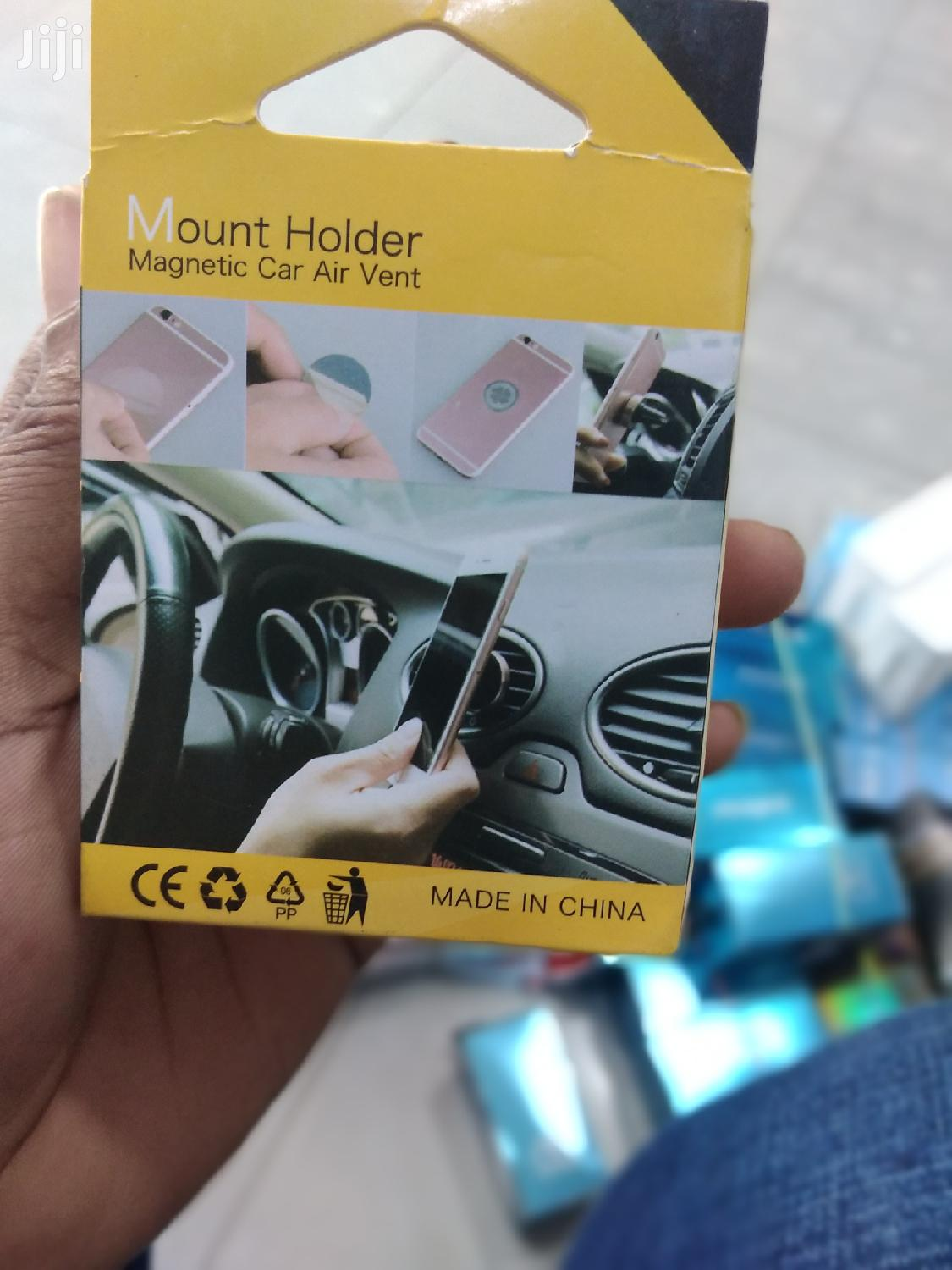 Magnetic Car Air Vent Phone Holder | Accessories for Mobile Phones & Tablets for sale in Dzorwulu, Greater Accra, Ghana
