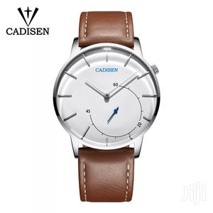 Cadisen Mens Quartz Leather Watch   Watches for sale in Greater Accra, Adenta