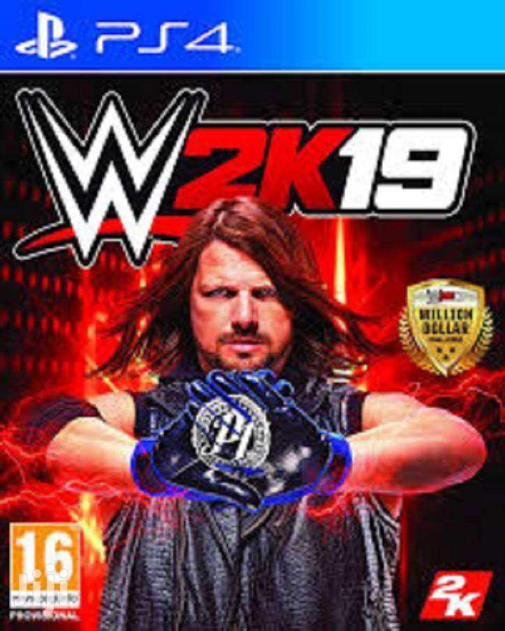 PS4 CD W2k 19