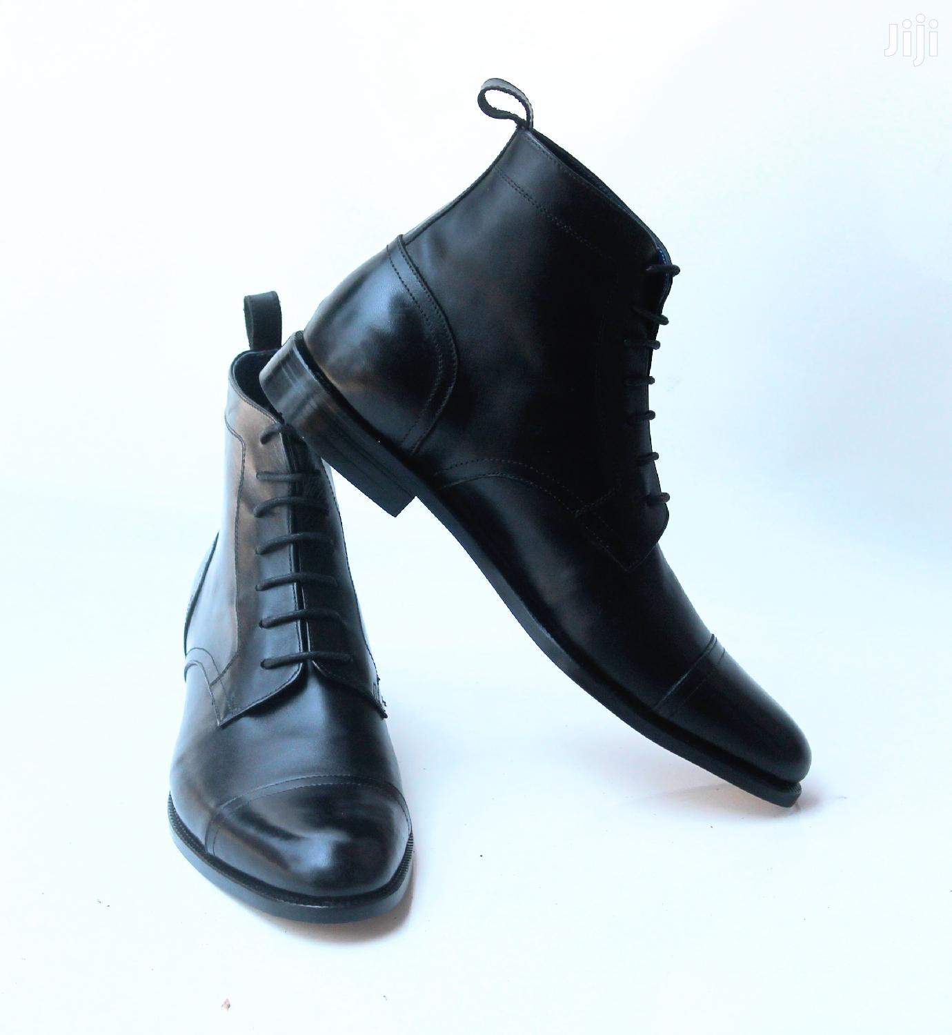 Premium and Durable Men Leather Boots