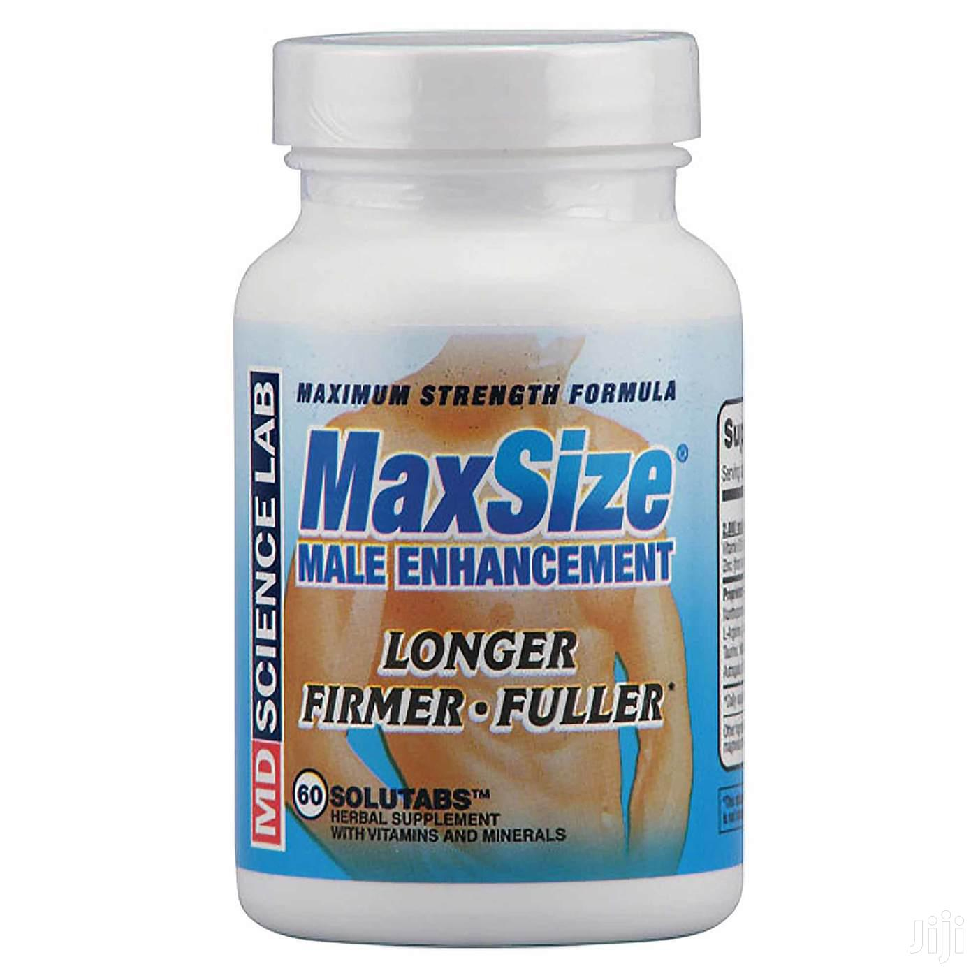 Max Size, Male Enhancement Formula Maximum-strength - 60 Tablets