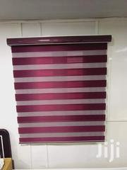 Clasay Wine Zebra Curtains Blinds for Homes and Offices | Home Accessories for sale in Greater Accra, Osu Alata/Ashante